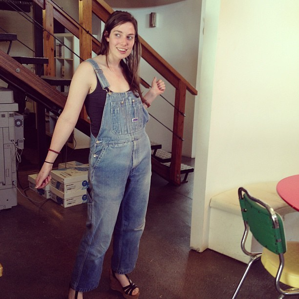 Babes of my life: @anna_horan #overalls #wedges #unshowered (at Lifelounge)