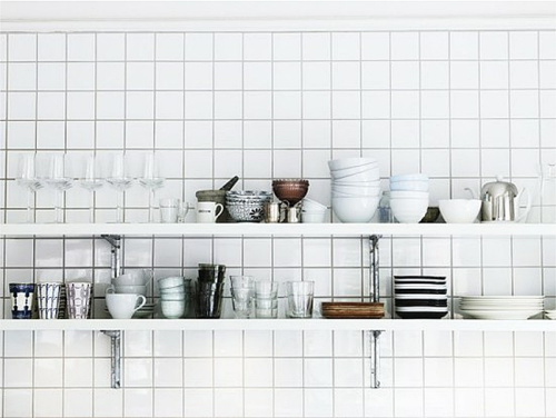 open shelving inspiration