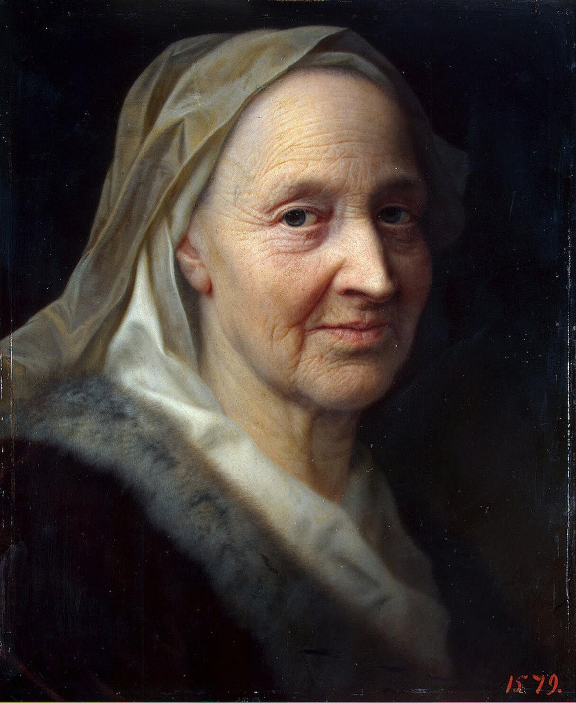 pmikos:   Balthasar Denner  Portrait of an old woman, 1720-1745    (by hauk sven)