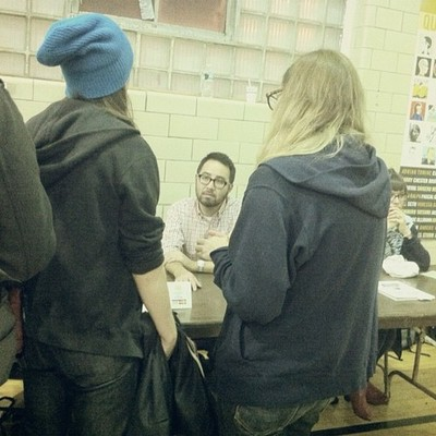 ADRIAN TOMINE #opticnerve #brooklyn #comics #graphics #festival
