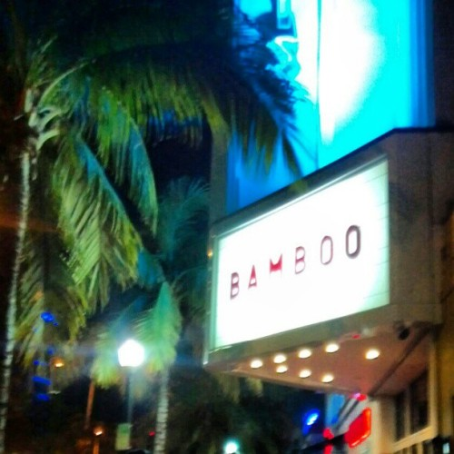 At #bamboo #miami tonight #frenchmontana bday