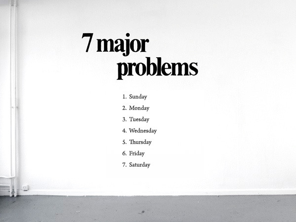 nevver:  7 Major problems