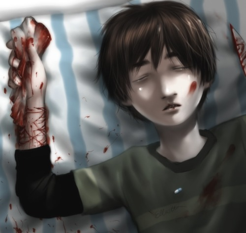 Little boy lost by Murata from Deviantart