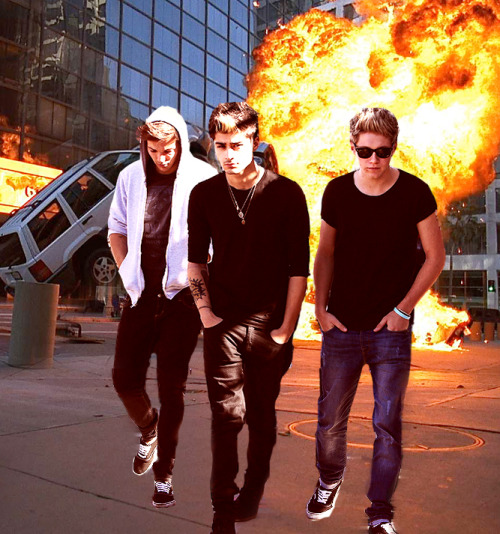 cool guys don't look at explosions they blow things up and just walk away