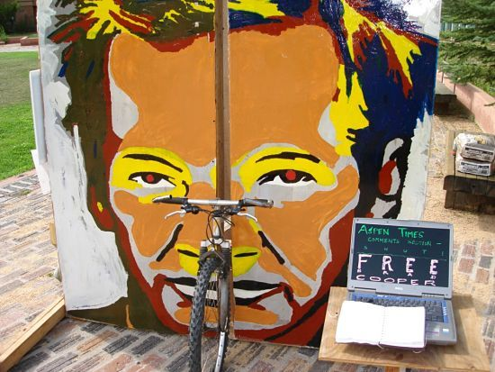 Julian Assange Street art Source unknown