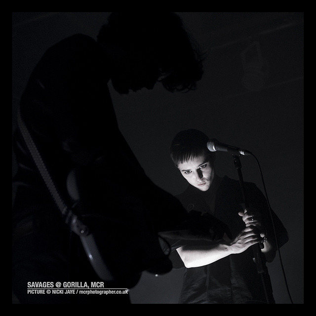 Savages at Gorilla Manchester by MCR-Photographer on Flickr.