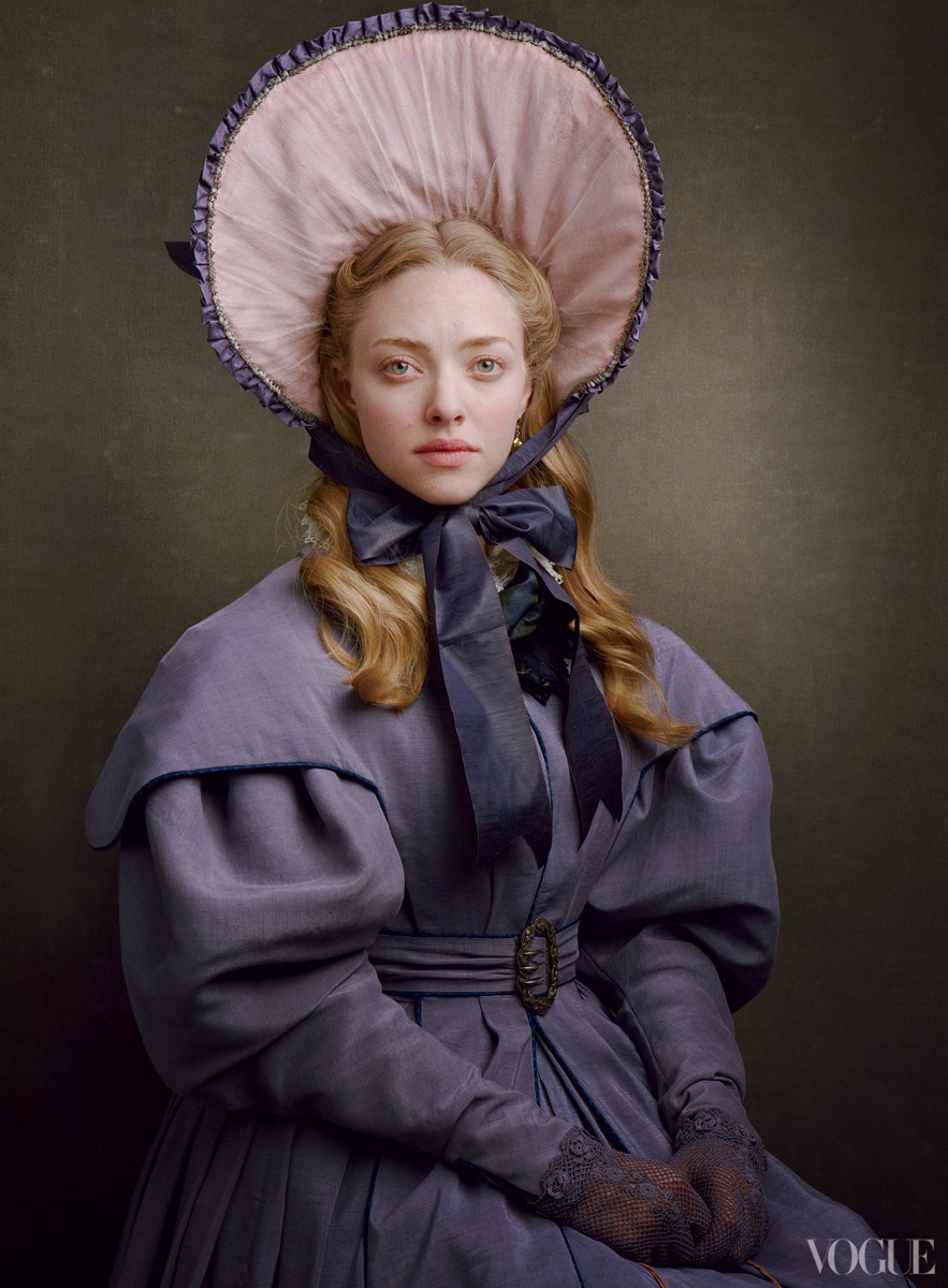 Amanda Seyfried: Dreaming a Dream - Vogue by Annie Leibovitz, December 2012