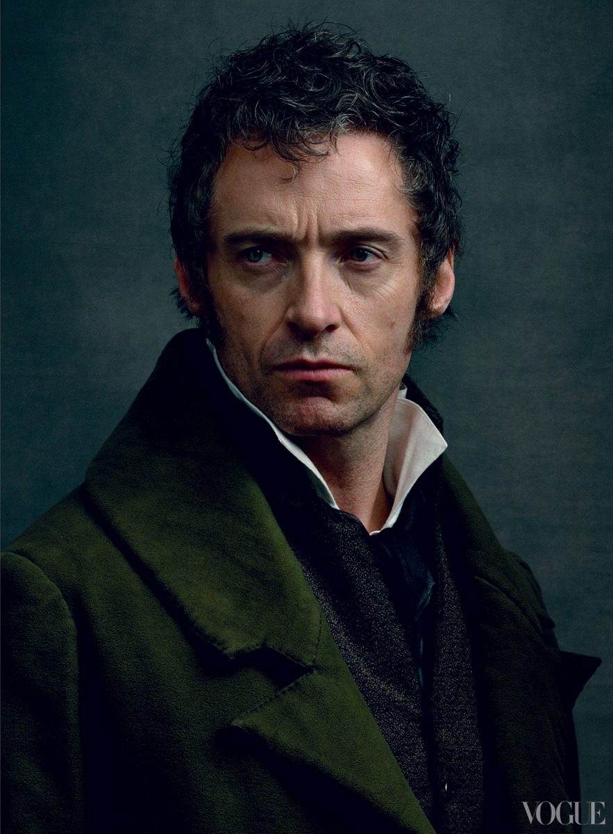 Hugh Jackman: Dreaming a Dream - Vogue by Annie Leibovitz, December 2012