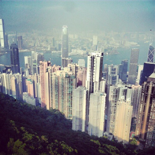 Hong Kong from Victoria Peak.. woah