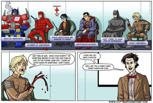 """Just there to make fun of Superman"" - Worth a post! XD"