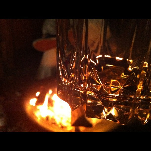 11.11.12 scotch, fire, SoCal @ct025 @jimbowhen @lala_long @jdubletrouble @ #photooftheday #nofilter #drinks @reunione