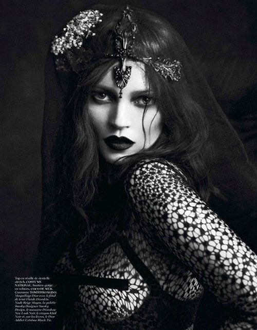 journaldelamode:  Kate Moss by Mert & Marcus for Vogue Paris September 2012