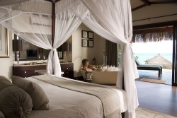 Honeymoon Beach Chalet Bedroom