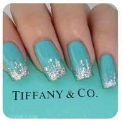 #tiffanynails #shinebrightlikeadiamond #tiffanyco #lilxurious #nails #instanails #instafashion #glam #flyness #niceee #styleandgrace
