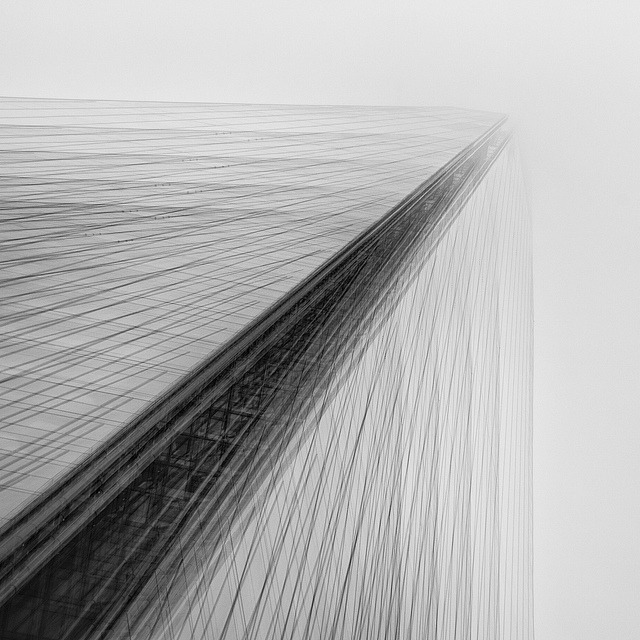 weltschmerz 2 on Flickr.More from my angst project. This is the Shard - 5 exposures all in camera on a single frame. Its shot in the fog which seem to be perfect conditions for multi-exposures. I'm still learning about multi exposure photography of what works and what doesn't - I've had some preconceived ideas about what should work - but having taken the shots they just don't - More London is a good case in point. Anyway will be carrying on with this for a little while and see where it takes me.