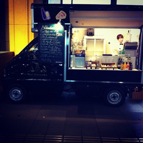 Dream job: Kei Coffee truck