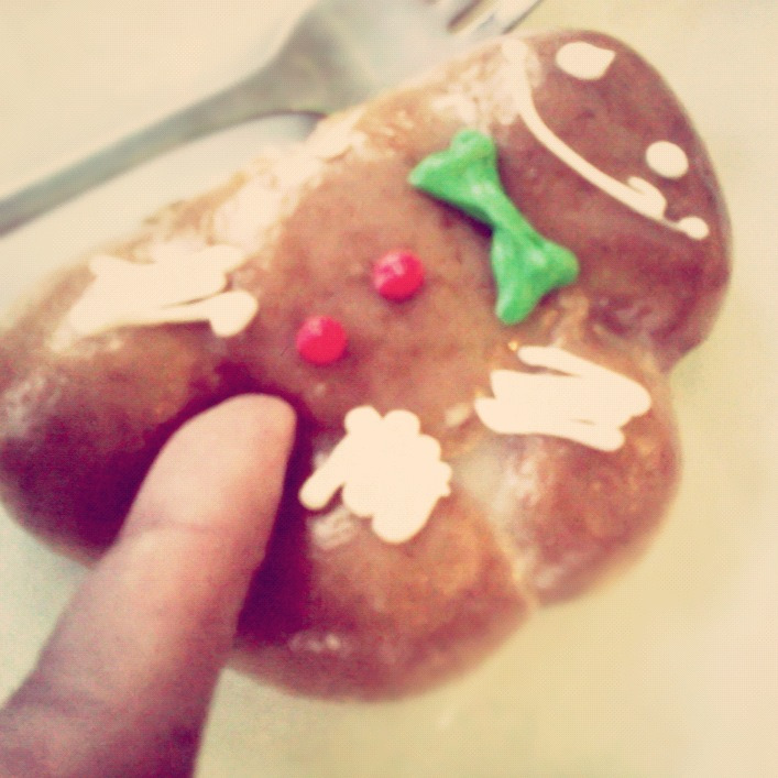 Happy Gingerbread man :)