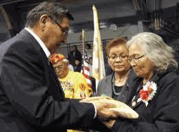 "Statement From Navajo Nation President Ben Shelly for Veterans Day Navajo Nation President Ben Shelly released the following statement for Veterans Day 2012. ""Our veterans are among the most cherished people among our Navajo people. For generations, our warriors have protected our way of life as Diné. From our notable warriors and chiefs like Narbona and Manuelito, to our distinguished Navajo Code Talkers of World War II, to our modern warriors serving in Afghanistan, we are forever indebted to you for protecting your people."