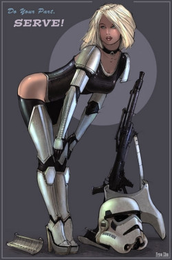 Time for imperial pin-up!