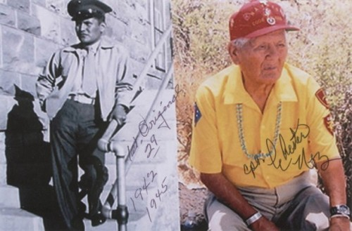 Navajo Code Talker, Chester Nez, to Get College Degree After 60 Years In the spring of 1952, Chester Nez had to abandon his studies at the University of Kansas because his GI Bill funding ran out. Now, at 91, Nez—the last surviving original World War II Navajo Code Talker—will be honored with a diploma as part of the university's Veterans Day activities.