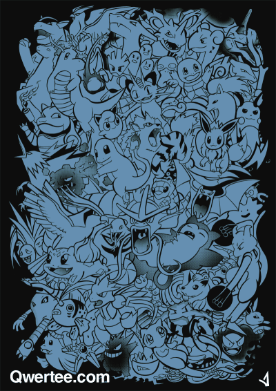 "qwertee:  Just 12 hours remain to get our Last Chance Tee ""Pokemaniacal "" on www.Qwertee.com/last-chance Get this great design now for £10/€12/$14 before it's GONE FOREVER! Be sure to ""Like"" this for 1 chance at a FREE TEE this weekend, ""Reblog"" it for 2 chances and ""Follow"" us for a 3rd chance (if you're not following us already:) Thanks as always!"""