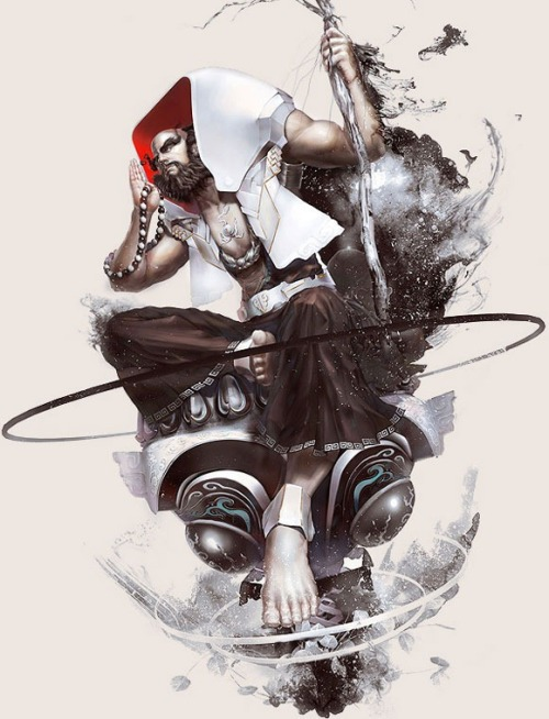 30 stunning game character designs  found at 10steps.sg