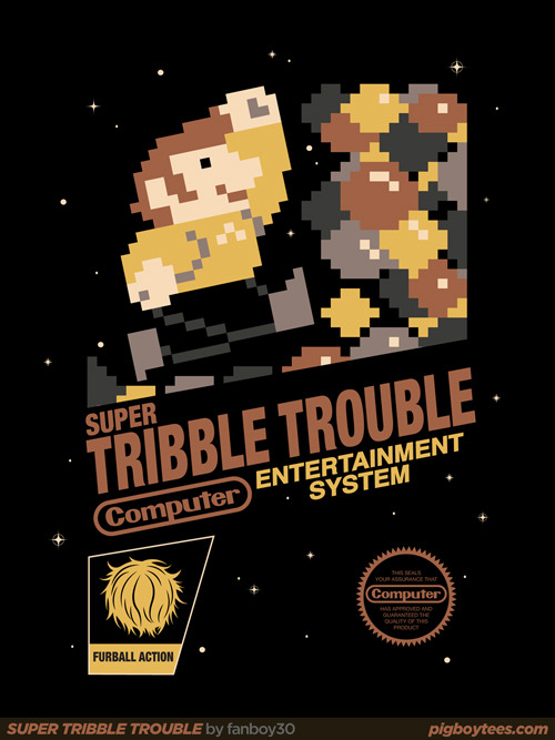 SUPER TRIBBLE TROUBLE by fanboy30. Available at RedBubble.