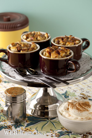 Caramel Bread Pudding - Vintage Recipe