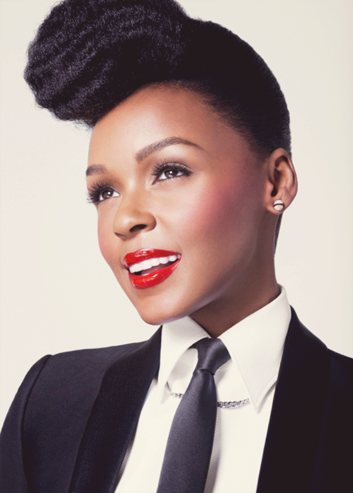 briennae8:  The Beautiful Janelle Monae .