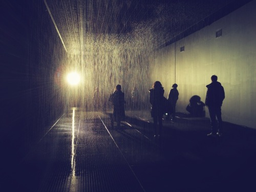 Rain Room by Random International // The Barbican, London