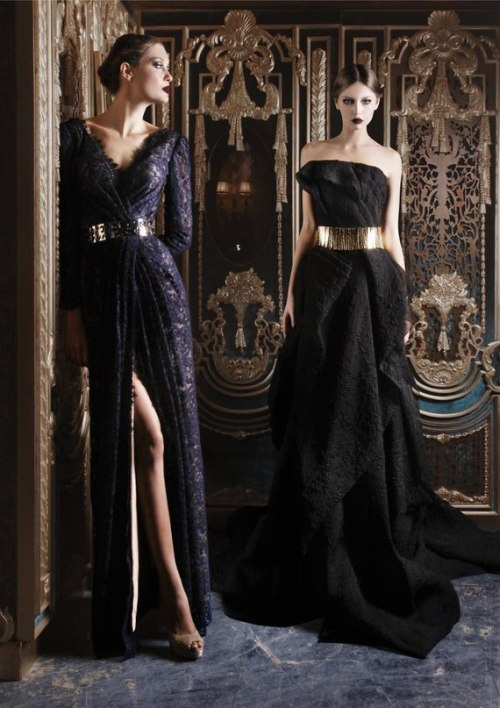walkingthruafog:  walkingthruafog:  Elegant couture