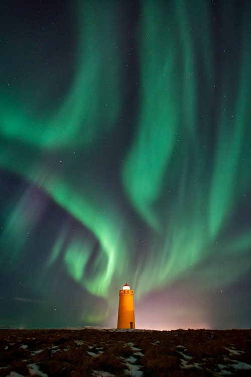 definitelydope:  The Solar Storm Tonight (by Gunnar Gestur)