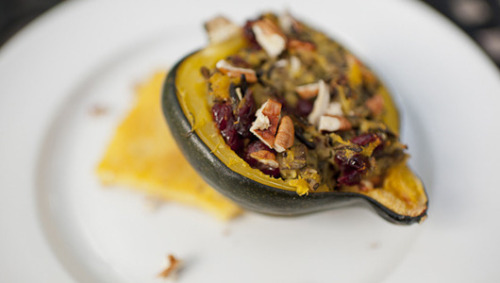 mothernaturenetwork:  5 amazingly tasty vegetarian Thanksgiving optionsVegetarians and meat eaters alike will give thanks for these festive, delicious, meatless menu choices.
