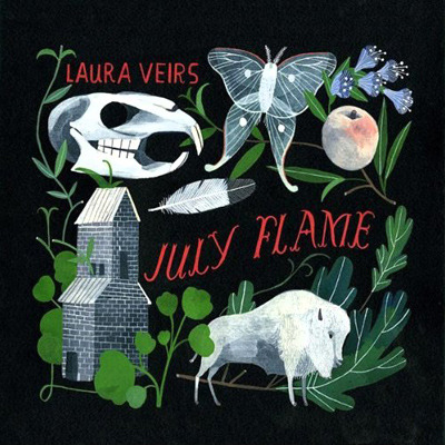 (via Carson Ellis | Album Art | July Flame)