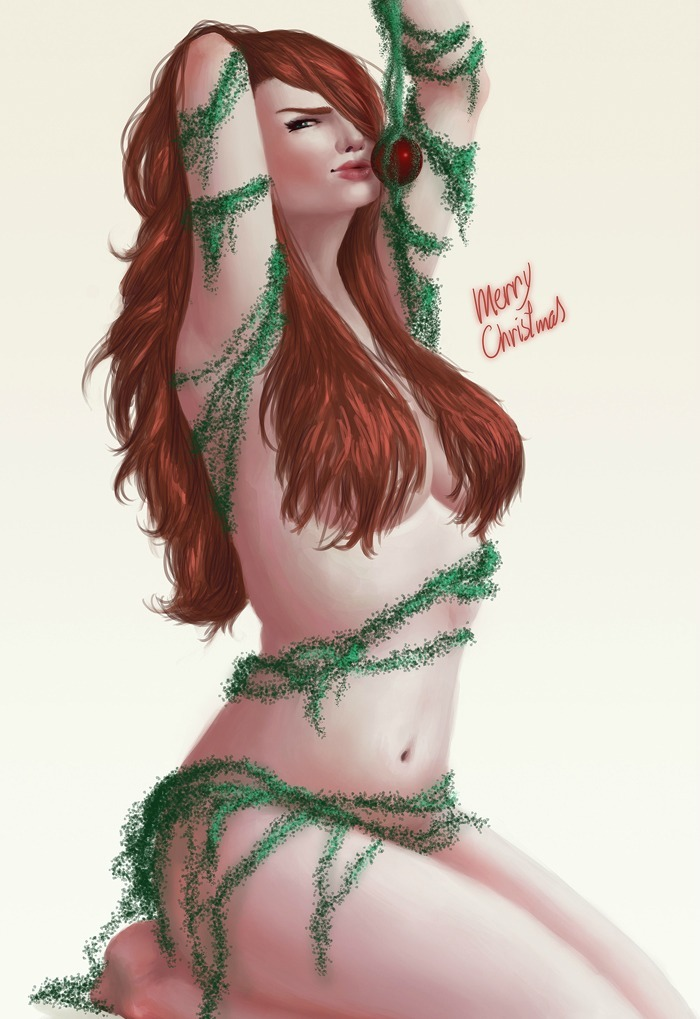 youngjusticer:  P is for… What some people want for Christmas. Merry Christmas, by Guilherme Prieto.