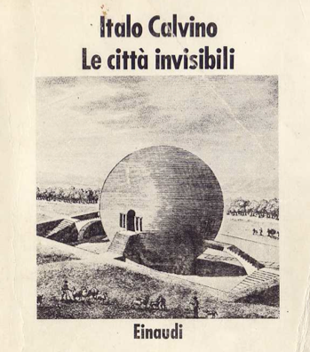 """Invisible cities"" by Italo Calvino on the sunny balcony all day long."