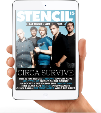 You can now read Stencil Mag on the iPad/iPad Mini for FREE! Just head over to www.issuu.com/stencilmag to get involved!