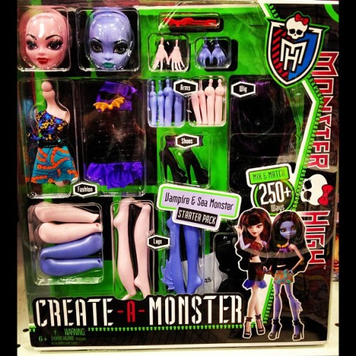 #MonsterHigh #CreateAMonster #Vampire #SeaMonster #Toys