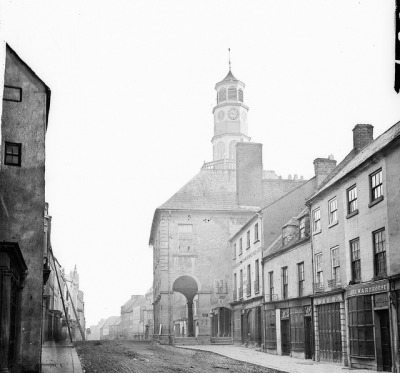 The Tholsel, Kilkenny by National Library of Ireland on The Commons on Flickr.