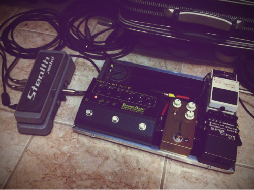 My Bass Pedalboard + StealthPedal - IK Multimedia