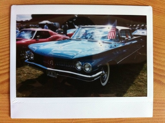 Buick: American Buick at Wilton House supercar show. (by ehmahh on Lomography)