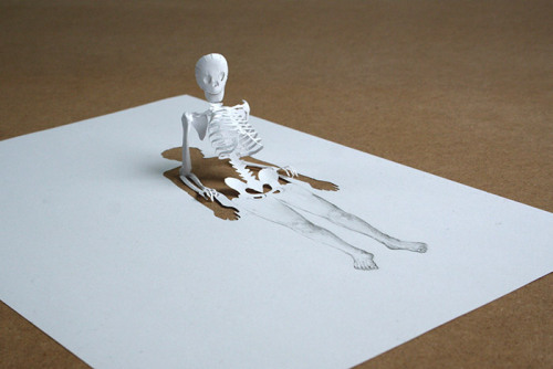 Another one! (Paper sculpture by Pater Callesen)