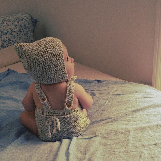 wgsn:  Adorable newborn knits by new New England brand, Misha and Puff. We love!