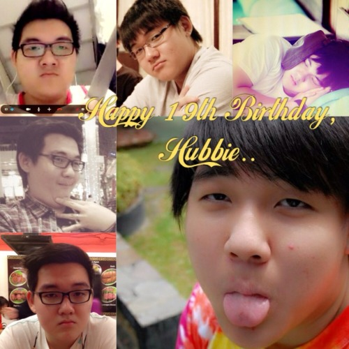 Happy birthday, Calvin Nugraha. Sorry, I can't be there. Send my love from Karawaci. Hahah 😘 with Calvin – View on Path.