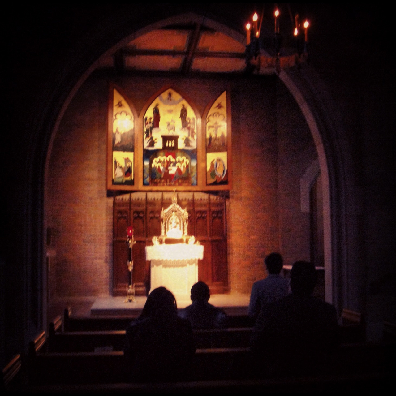 Blessed Sacrament Chapel at Sacred Heart Major Seminary in Detroit, MI