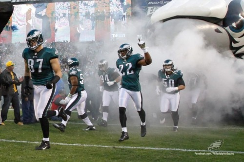 xianmarin:  Philadelphia Eagles taking the field for their Week 10 matchup against the Dallas Cowboys Philadelphia, Pennsylvania