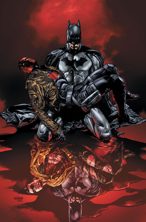 "fuckyeahjasontodd:  fuckyeahdcu:  RED HOOD AND THE OUTLAWS #17 Written by SCOTT LOBDELL Art by TIMOTHY GREEN II Cover by MICO SUAYANOn sale FEBRUARY 20 • 32 pg, FC, $2.99 US • RATED T • In the wake of ""DEATH OF THE FAMILY,"" Bruce Wayne confronts Jason Todd! • You DO NOT want to miss this!  And here's the solicit!"