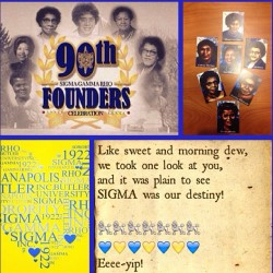Happy founders day soRHOrs!!! 🐩🐩🐩🐩🐩🐩🐩 💙💛💙💛💙💛💙 #SGRhoInc90th