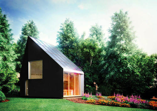 Off the grid. Macro Micro is an experimental architecture lab committed to reducing the environmental footprint of new buildings through technology and design. A project of the University of Dundee in Scotland, Macro Micro's current endeavor is an energy-neutral studio designed for the city's Botanic Gardens. The student-led team has finished designing the structure and has turned to Kickstarter to raise about a third of the necessary funding. If successful, the studio will be the first off-grid, carbon-neutral project to be designed and built in the UK.
