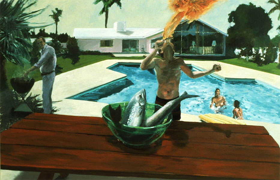 ikilledjackjohnson:  Eric Fischl (born March 9, 1948)